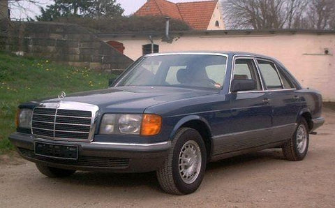 Mercedes-Benz W126 1981-1991 Workshop Repair Manual