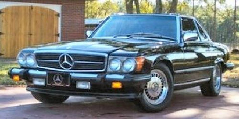 Mercedes 380SLC 1981 TO 1985 Factory Service manual