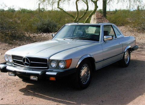 Mercedes 380SL 1981 TO 1985 Factory Service manual
