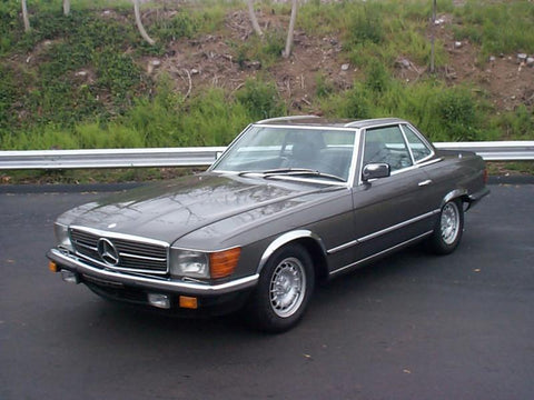 Mercedes 560SL 1986 1987 1988 1989 Factory Service manual