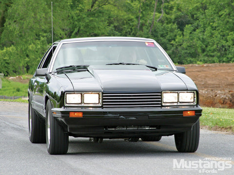 Mercury Capri 1979-1986 Repair Service Manual PDF