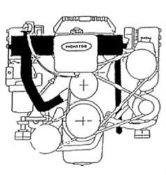 Mercury Mercruiser #13 MARINE ENGINES GM 4 Cylinder Service Repair Manual 1990-1997 Download