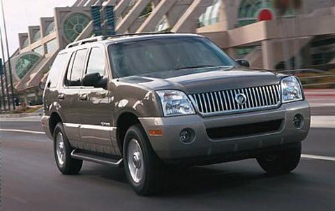 Mercury Mountaineer 2002-2005 Factory Service SHop repair manual Download