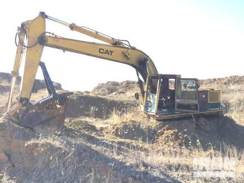 Mining excavator Caterpillar 235C Operation and maintenance manual PDF