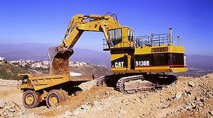 Mining excavator Caterpillar 5130B Operation and maintenance manual PDF