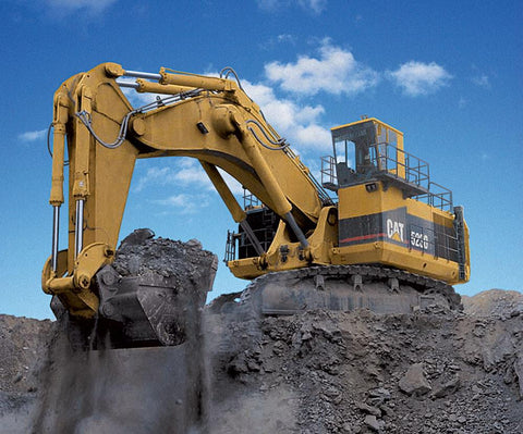 Mining excavator Caterpillar 5230 Operation and maintenance manual PDF