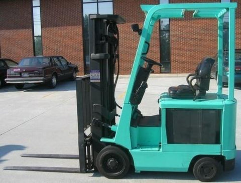 Mitsubishi 2FBC15 2FBC18 2FBC20 2FBC25 2FBC25E 2FBC30 Forklift Trucks Chassis Mast Service Repair Workshop Manual DOWNLOAD