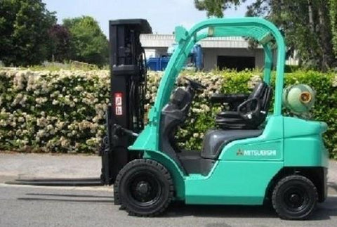 Mitsubishi FD20K FC, FD25K FC, FD30K FC, FD35K FC Forklift Trucks Service Repair Workshop Manual DOWNLOAD