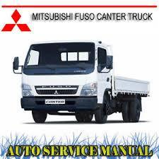 Mitsubishi Fuso Canter Truck Workshop Repair Manual