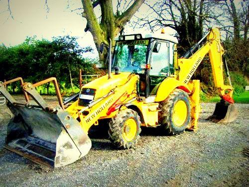 NEW HOLLAND B110, B115 BACKHOE LOADER SERVICE REPAIR MANUAL on