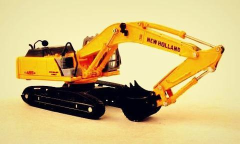 New Holland E485B ROPS Tier III Crawler Excavator Service Parts Catalogue Manual