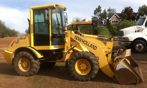 NEW HOLLAND LW80 WHEEL LOADERS TECHNICAL SERVICE REPAIR MANUAL