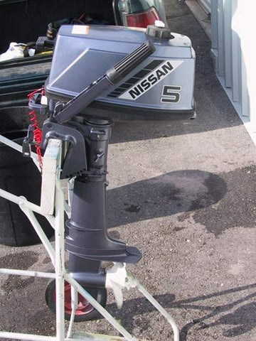 NISSAN OUTBOARD MOTOR 2 STROKES TLDI ALL MODEL PARTS MANUAL