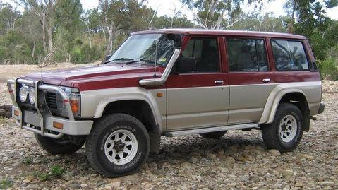 NISSAN PATROL SAFARI GQ Y60 1988-1998 Workshop Manual