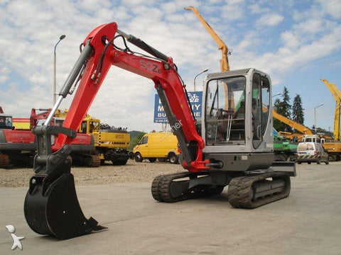 Neuson 50Z3 Track Excavator Workshop Service & Repair Manual # 1 Download