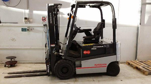 Nissan Forklift Electric 1Q2 Series* Factory Service / Repair/ Workshop Manual Instant Download!