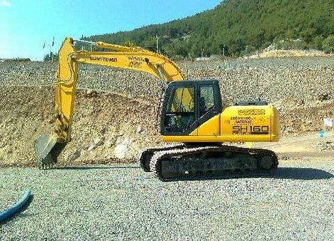 SUMITOMO SH160-3 EXCAVATOR SERVICE REPAIR MANUAL
