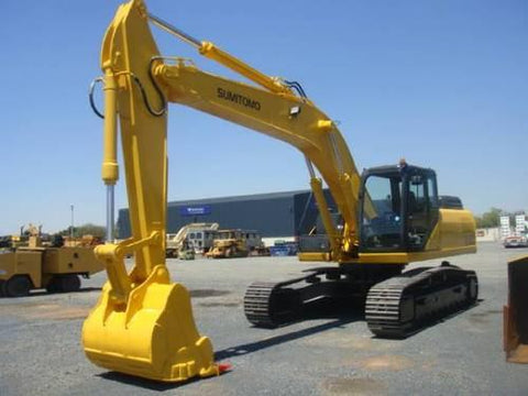 SUMITOMO SH290-3 CRAWLER EXCAVATOR SERVICE REPAIR MANUAL