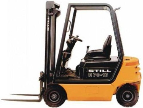 Still Diesel Fork Truck Forklift R70-16, R70-18, R70-20 Compact Series Service Repair Workshop Manual DOWNLOAD