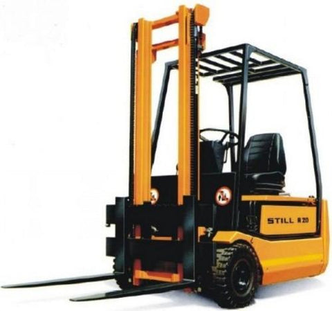 Still Electric Fork Truck Forklift R20-15, R20-16, R20-17, R20-20 Series Service Repair Workshop Manual DOWNLOAD
