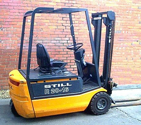 Still Electric Fork Truck Forklift R20-15, R20-16, R20-18, R20-20 Series Service Repair Workshop Manual DOWNLOAD