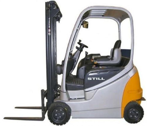 Still Electric Fork Truck Forklift R60-16, R60-18, R60-20 Series Service Repair Workshop Manual DOWNLOAD
