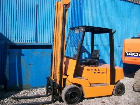 Still R70-20, R70-25, R70-30, R70-35, R70-40, R70-45 Fork Truck Service Repair Workshop Manual DOWNLOAD