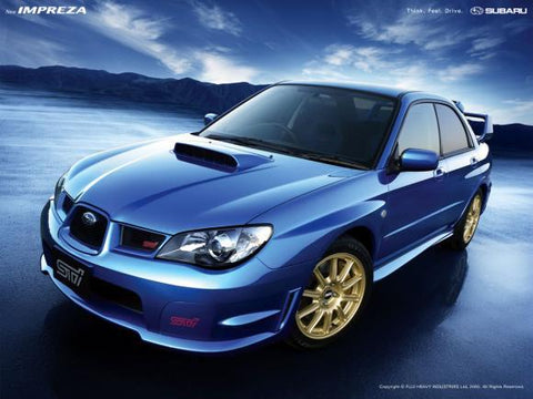 Subaru Impreza (STI) Service & Repair Manual 2006, 2007