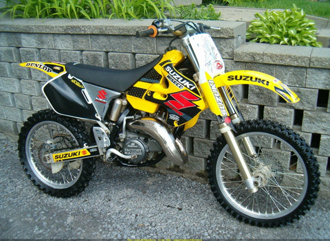 1996 Suzuki RM125 2-Stroke Motorcycle Repair Manual Download