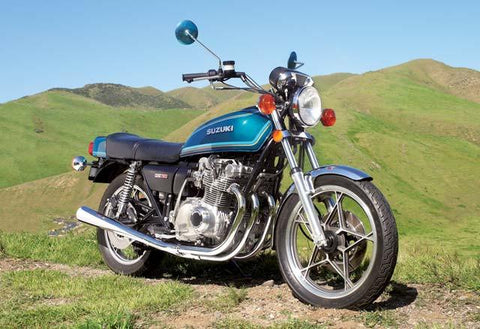 SUZUKI GS750 / GS750E MOTORCYCLE SERVICE REPAIR MANUAL 1976 1977 1978 1979 1980 1981 DOWNLOAD!!!