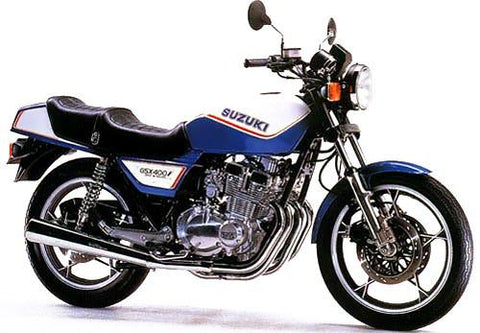 Suzuki GSX400F (GSX400FX, GSX400FZ, GSX400FD) Motorcycle Workshop Service Repair Manual 1981-1983