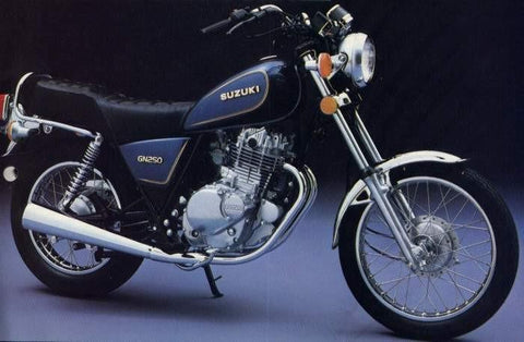 Suzuki Gn250 Motorcycle Service Repair Manual 1982-1983 Download