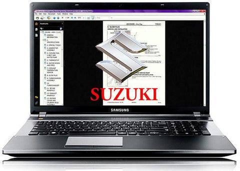 1992 Suzuki Pv50 Workshop Repair Service Manual PDF Download