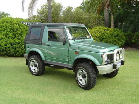 Suzuki Samurai SJ Service Repair Manual 1987-1988 Download