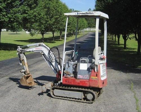 Takeuchi TB007 Compact Excavator Parts Manual DOWNLOAD (SN: 1073001-1074744)
