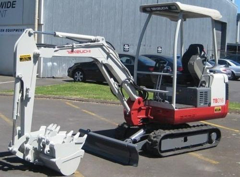 Takeuchi TB014 Compact Excavator Parts Manual DOWNLOAD (SN: 114000003-11401973)