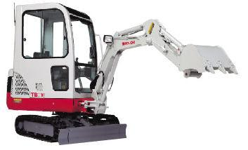 Takeuchi TB016 Compact Excavator Parts Manual DOWNLOAD (SN: 11600003-11609631)