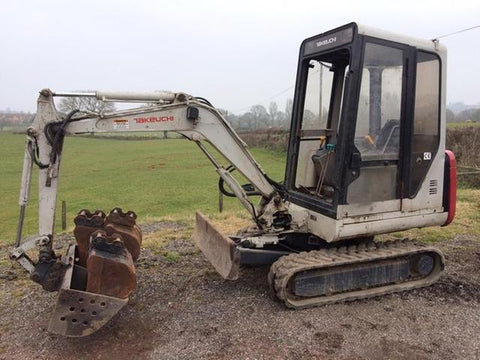 Takeuchi TB020 Compact Excavator Parts Manual DOWNLOAD (SN: 1205001-1205750)