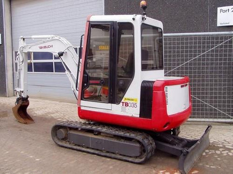 Takeuchi TB030(B) Compact Excavator Parts Manual DOWNLOAD (SN 1305001-)
