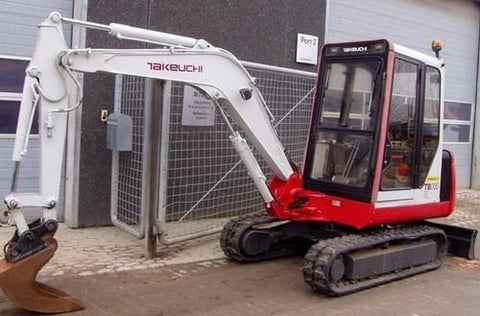 Takeuchi TB035 Compact Excavator Parts Manual DOWNLOAD (SN: 135001-1358193)