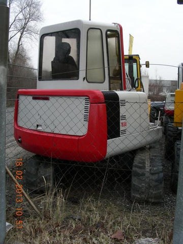Takeuchi TB045 Compact Excavator Parts Manual DOWNLOAD (SN: 1455001-1456876)
