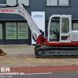 Takeuchi TB1140 Hydraulic Excavator Parts Manual DOWNLOAD (SN: 51400005 and up)