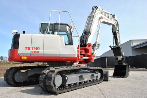Takeuchi TB1140 Hydraulic Excavator Parts Manual DOWNLOAD (SN: 51410002 and up)