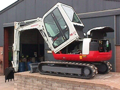 Takeuchi TB145 Compact Excavator Parts Manual DOWNLOAD (SN: 14510004 and up)