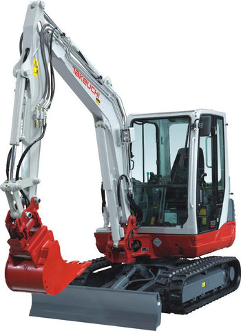 Takeuchi TB235 Mini Excavator Parts Manual DOWNLOAD (SN: 123500001 and up)