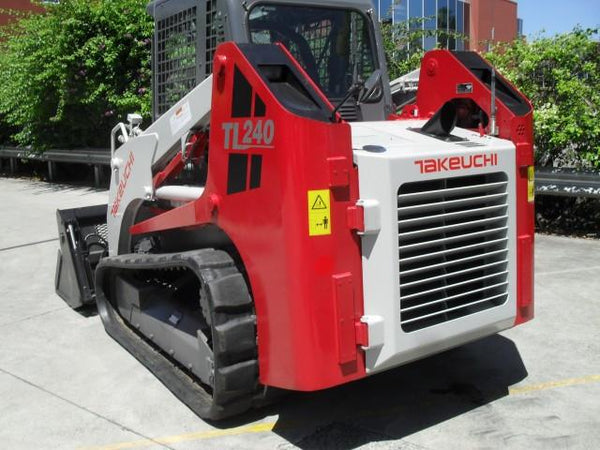 Takeuchi Tl240 Crawler Loader Parts Manual Download  Sn  224000001 And  U2013 Best Manuals