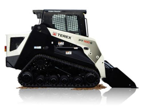 Terex PT-100 Rubber Track Loader Master Parts Service Repair Workshop Manual Download