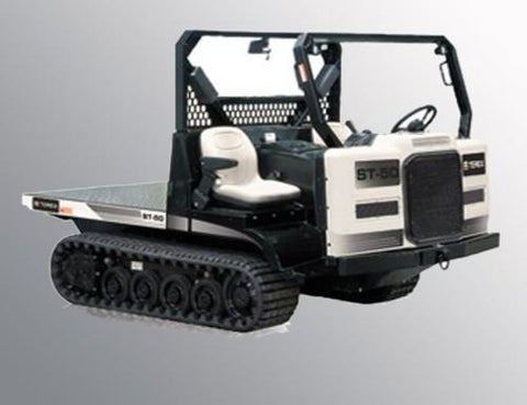 Terex ST-50 Rubber Track Loader Service Repair Workshop Manual Download