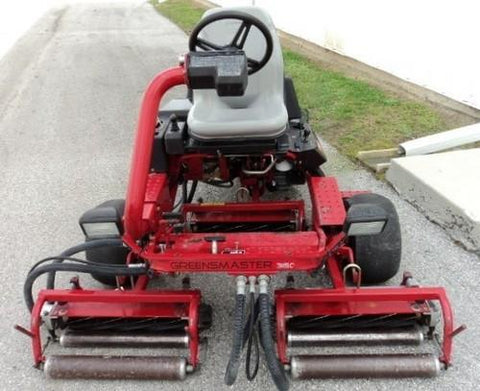 Toro Greensmaster 3150 Service Repair Workshop Manual DOWNLOAD