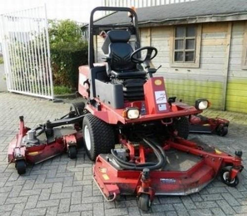 Toro Groundsmaster 4000-D (Model 30448) & 4010-D (Model 30446) Service Repair Workshop Manual DOWNLOAD